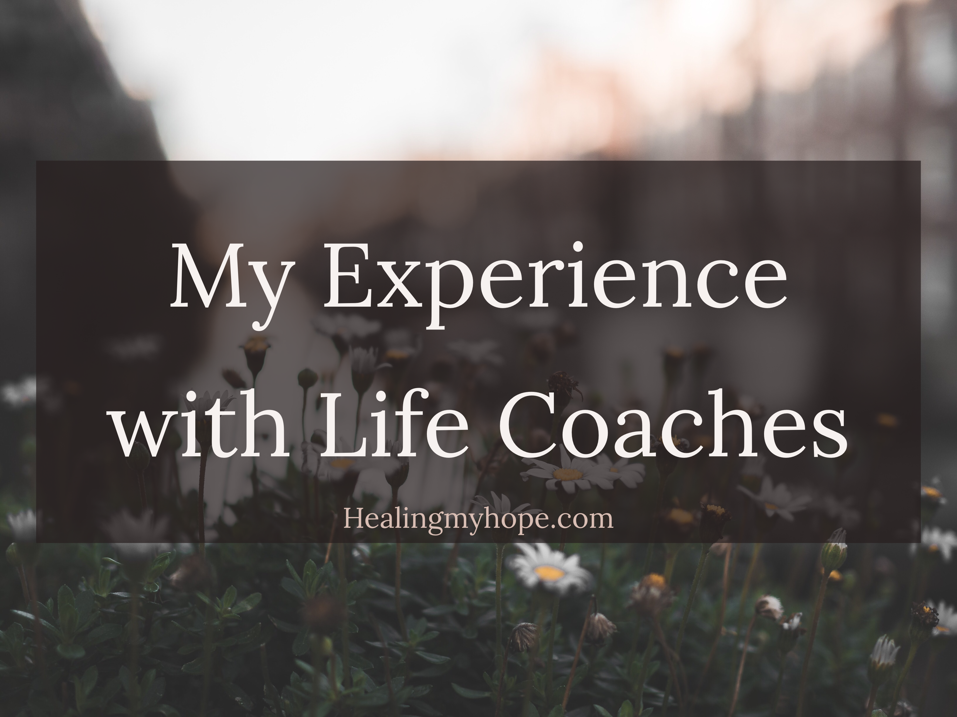 My Experience with Life Coaches